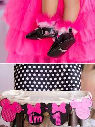 minnie mouse birthday party polka dot pink minnie mouse birthday party hostess with