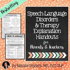 speech therapy teaching resources lesson plans teachers pay