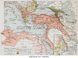 Constantinople Ottoman Empire Historic Map Of Constantinople Stock Photos Historic Map Of