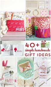more than 40 simple handmade gift ideas simple sewing projects