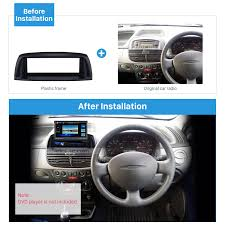 fiat punto 2002 deluxe 1din car radio fascia for 2002 fiat punto linea audio