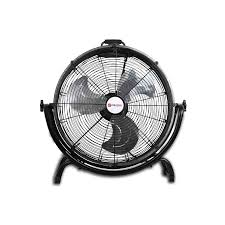 20 high velocity floor fan shop utilitech 20 3 speed high velocity fan at lowes com