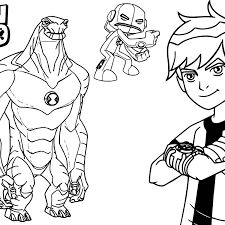 ben10 coloring pages wecoloringpage coloring pages of ben 10 in