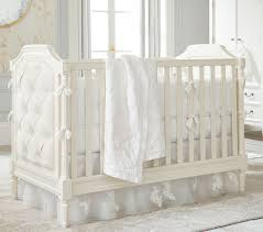 Convertible White Crib Blythe Convertible Crib Pottery Barn