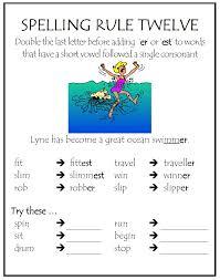 spelling images nine great spelling rules skills workshop