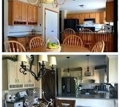 before after kitchen cabinets updating oak kitchen cabinets before and after oak update kitchen