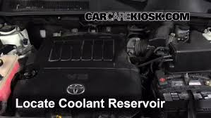 toyota rav4 v6 engine how to add coolant toyota rav4 2006 2012 2010 toyota rav4