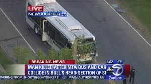 lexus of yonkers driver killed after he swerved into mta bus on staten island in