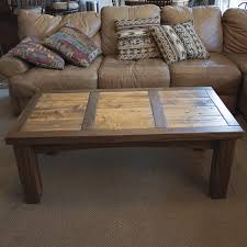 Barn Wood Coffee Table Rustic Walnut Barnwood Coffee Table