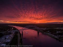cape cod canal fire sky sunset album on imgur
