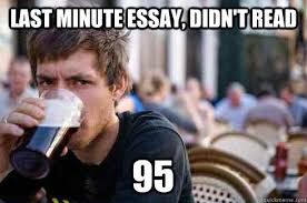 Last Minute Meme - last minute essay last minute tips for essay writing for civil