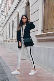 imagenes look invierno pantalones blancos en invierno blog de moda little black coconut