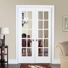home depot prehung interior door masonite smooth 10 lite solid primed pine prehung