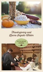 thanksgiving holidays and ingalls wilder