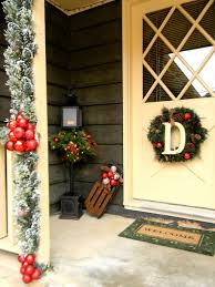 front porch decor ideas christmas country christmas front porch decorating ideas