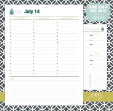Diy Planner Template Cute Hourly Schedule Template