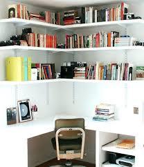Corner Desk Shelves Corner Desk With Shelves Bookcase White Corner Desk Shelves Corner