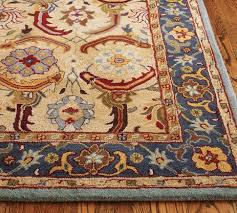Area Rugs Pottery Barn Style Tufted Wool Rug 5x8 Pottery And Barn