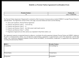 100 reseller agreement template strategic partnership agreement