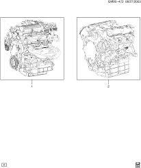 pontiac montana sv6 ext wheelbase 2wd ux1 engine asm