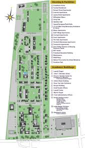 Map Of City Park New Orleans by Nobts Campus Map