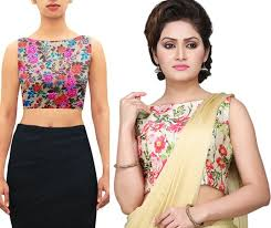 blouse patterns indian awesome and fancy sleeveless blouse designs for sarees