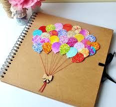 Diy Scrapbook Album Diy Scrapbook Photo Album Beautifully Hand Decorated Perfect Baby