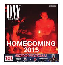 journalist resume australia formation lyrics az the daily wildcat 10 23 15 homecoming 2015 edition by arizona