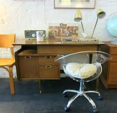 Modern Desks For Sale Cooper Mid Century Leather Swivel Office Chair Mid Century Modern