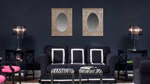 modern simple posh living room black metal simple fireplace screen