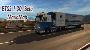 Truck Route Maps Ets2 1 30 Open Beta Mario Map V12 5 Middle East Route Youtube