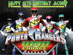 power rangers cake toppers power rangers dino charge edible icing sheet cake decor topper