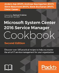microsoft system center 2016 service manager cookbook second