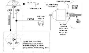 oil pressure warning light wiring diagram diagram wiring