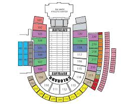 Radio City Music Hall Floor Plan by Cubuffs Com University Of Colorado Buffaloes Athletics