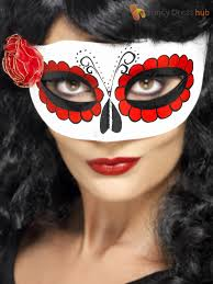 halloween costume mexican skeleton mexican day of the dead masks halloween fancy dress costume