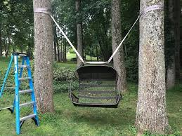 tree swing hanging kit between 2 trees swing not included made