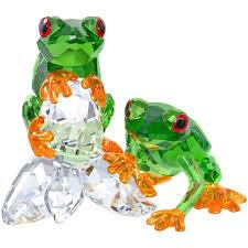 swarovski frogs 5136807 duty free crystal duty free crystal