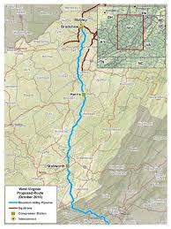 Maps Route by Maps Mountain Valley Pipeline Project