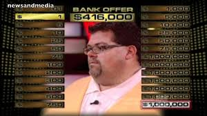 Deal Or No Deal Meme - deal or no deal contestant has a 1 case and a 1 million case