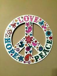 peace sign decorations for bedrooms peace sign decor for bedroom like this item peace sign bedroom
