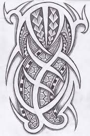 polynesian and tribal tattoos design