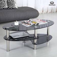 Black Glass Coffee Table Black Coffee Table Ebay
