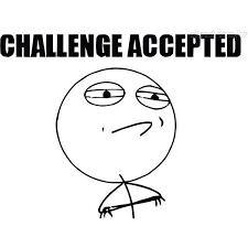 Challenge Accepted Meme Face - papel de parede meme challenge accepted liked on polyvore