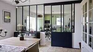 installer sa cuisine comment installer une verrière dans sa cuisine noir style
