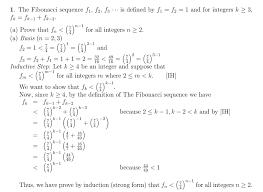 discrete math strong induction choosing between showing u0027k u0027 or k