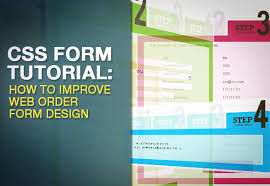 tutorial css design css form tutorial how to improve web order form design