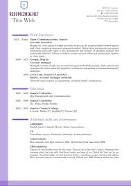 Write Resume Template Make Resume Format Resume Latest Format Experience Format In