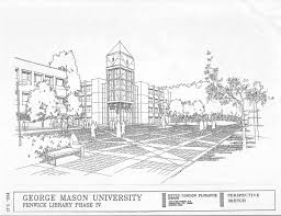 house architecture drawing a history of george mason university architectural drawing