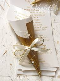 handmade wedding invitations scroll wedding invitation violet handmade wedding invitations
